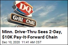 Dairy Queen Customers Pay-It-Forward 900 Times