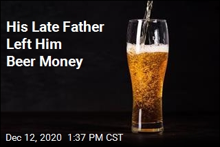 His Late Father Left Him Beer Money