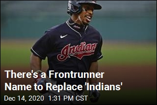There's a Frontrunner Name to Replace 'Indians'