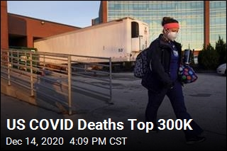 US COVID Deaths Top 300K