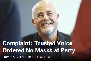 Caterer: Dave Ramsey Wanted No Masks at His Party
