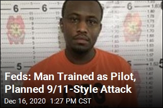 Feds: Man Trained as Pilot, Planned 9/11-Style Attack