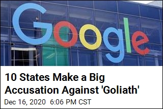 10 States Make a Big Accusation Against Google