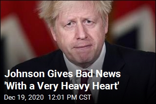 Boris Johnson Has Bad Christmas News