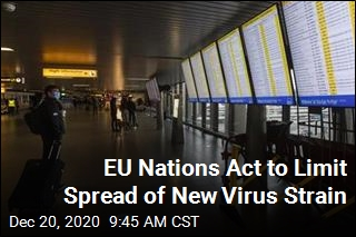 EU Nations Act to Limit Spread of New Virus Strain