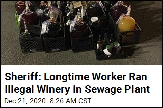 Alabama Worker Arrested Over Illegal Winery in Sewage Plant