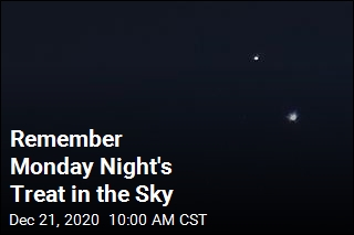 Don't Forget to Peek Up at the Sky Monday Night