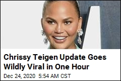 Chrissy Teigen Update Goes Wildly Viral in One Hour