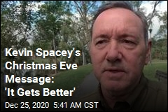 Kevin Spacey's Christmas Eve Message: 'It Gets Better'