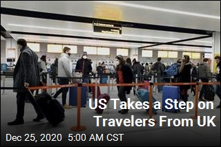 US Takes a Step on Travelers From UK