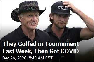 Greg Norman Hospitalized With COVID
