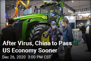 After Virus, China to Pass US Economy Sooner