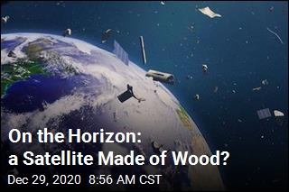On the Horizon: a Satellite Made of Wood?
