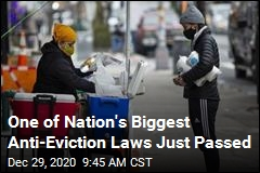 New York Halts Most Evictions for 2 Months