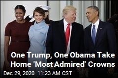 2 of These 4 Are America's Most Admired Man, Woman
