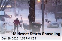 Winter Storm Crosses Midwest