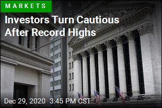 Stock Pull Back From Record Highs