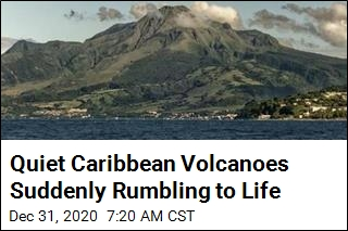 Quiet Caribbean Volcanoes Suddenly Rumbling to Life