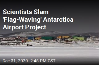 Scientists Slam Plan for Airport in Antarctica
