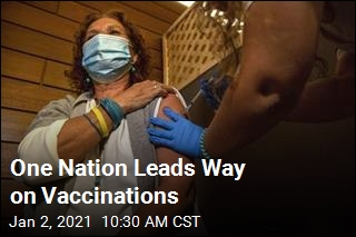 One Nation Leads Way on Vaccinations