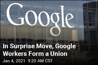 Silicon Valley Rarity: Google Now Has a Union