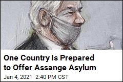 One Spot in North America Ready to Welcome Assange