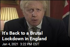 It's Back to a Brutal Lockdown in England