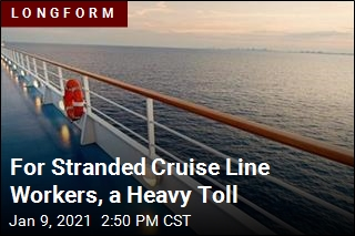 For Stranded Cruise Line Workers, a Heavy Toll