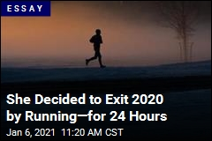 She Decided to Welcome 2021 by Running—for 24 Hours