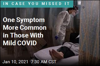 One Symptom More Common in Those With Mild COVID