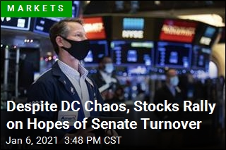 Despite DC Chaos, Stocks Rally on Hopes of Senate Turnover