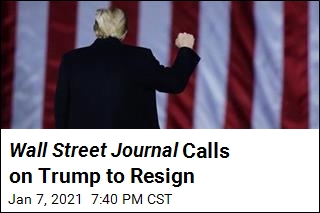 Trump Should Resign: Wall Street Journal