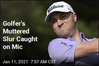 Top Golfer Apologizes After Muttering Slur