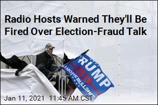 Radio Hosts Told to Quit the Election-Fraud Talk or Else