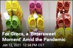 For Crocs, a 'Bittersweet Moment' Amid the Pandemic