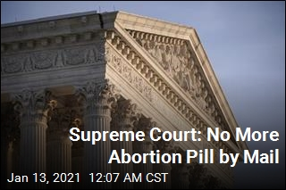 Supreme Court: No More Abortion Pill by Mail