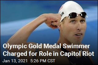 Olympic Swimmer Faces Charges Over Capitol Riot