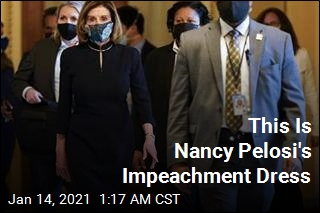 This Is Apparently Nancy Pelosi's Impeachment Dress