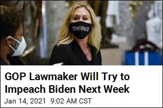 Republican Says She Will Try to Impeach Biden Next Week