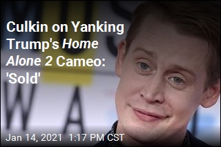 Culkin on Yanking Trump's Home Alone 2 Cameo: 'Sold'