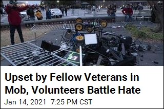 Upset by Fellow Veterans in Mob, Volunteers Battle Hate
