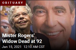 Mister Rogers' Widow Dies at 92