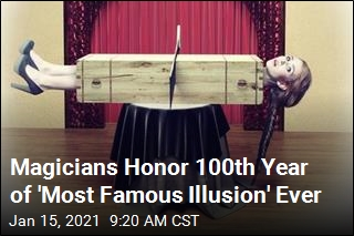 Magicians Honor 100th Year of 'Most Famous Illusion' Ever
