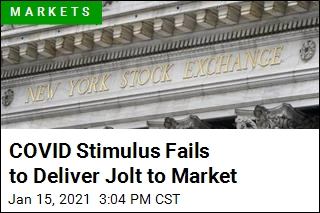 COVID Stimulus Fails to Deliver Jolt to Market
