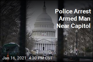 Truck Search Finds Gun, Ammunition Near Capitol