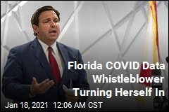 Florida COVID Data Whistleblower Turning Herself In