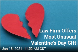 Happy Valentine's Day, Here's Your Free Divorce