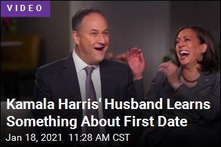 Kamala Harris Did Her Homework Before First Date
