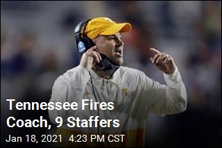 Tennessee Fires Coach, 9 Staffers