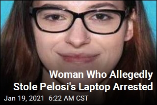 Woman Who Allegedly Stole Pelosi's Laptop Arrested